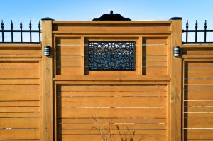 Nuvo Iron Rectangle Decorative Fence Gate Insert ACW61 Fencing, Gates, Home