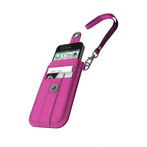 XtremeMac Wristlet For iPhone 5/5s/5c - Pink Denim