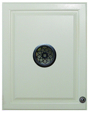 Nuvo Iron Round Single Board ACW 60SB Ornamental Medallion Gate Insert