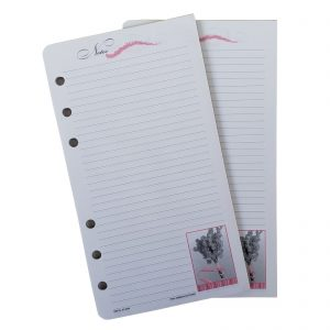 Day-Timer Organizer Accessory Pink Ribbon Note Pad