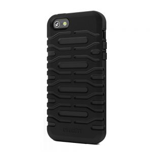 Cygnett CY0871CPBUL Bulldozer Silicone Case for iPhone 5/5S Black
