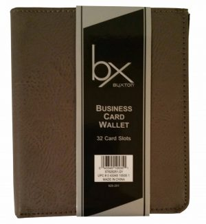 Business Card Wallet 32 Card Slots