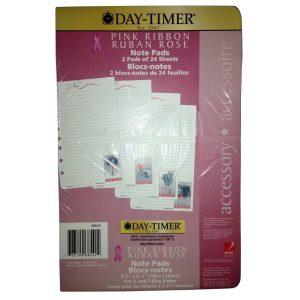 Day-timer Pink Ribbon Note Pad