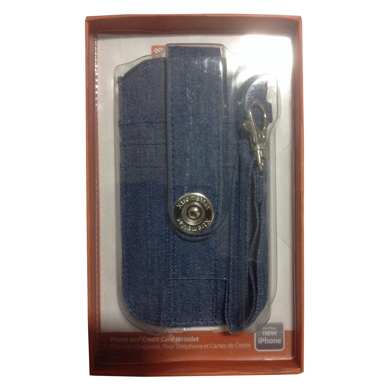 XtremeMac Wristlet Case For iPhone 5/5S/5C - Blue Denim