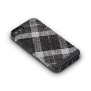 XtremeMac Microshield Style Case for iPhone 5/5s Black/White Plaid