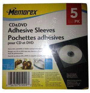 Adhesive Sleeves 5 Pack