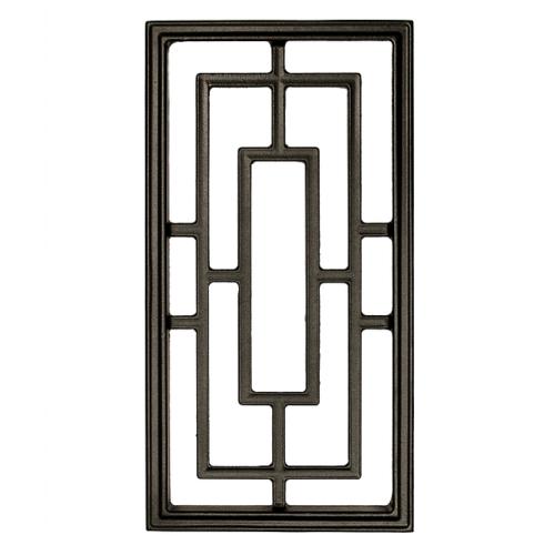 Nuvo Iron Rectangle Aluminum Door Insert 17\