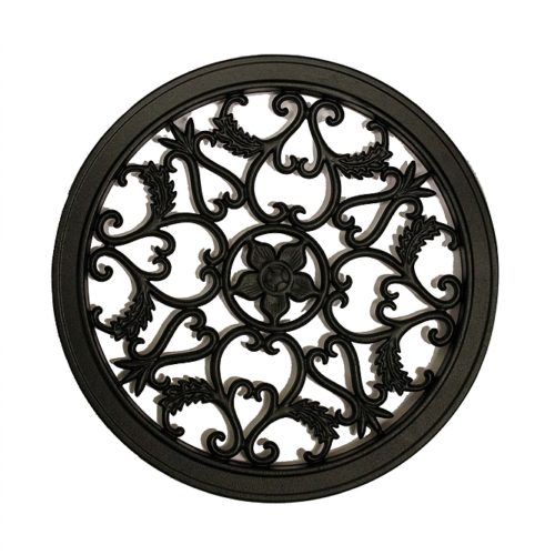 Nuvo Iron Round Decorative Gate Fence Insert Acw55 Fencing