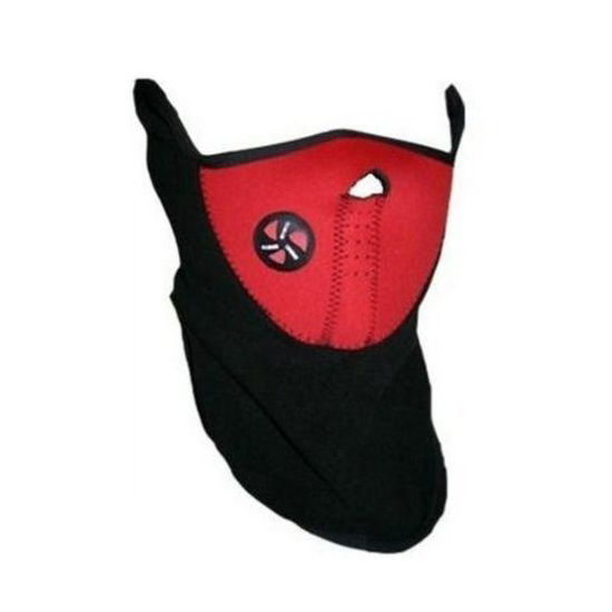 Neoprene Winter Mask - Red