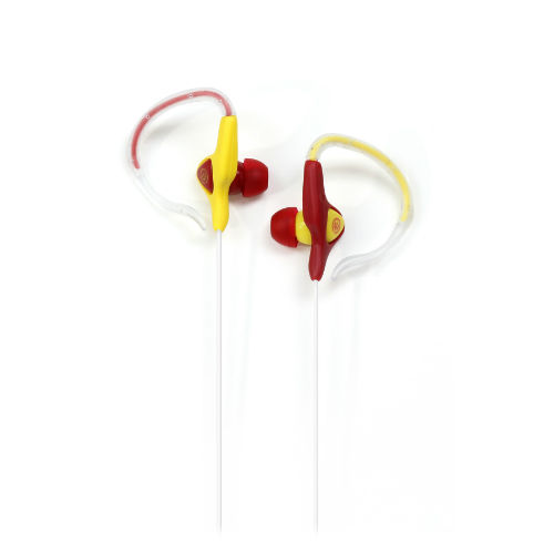 Wicked Audio Helix WI-2002 Ear-Hugger Maroon/Yellow