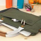 "Golla Original Handle Sleeve For 15"" MacBook Pro/Air - Pine"