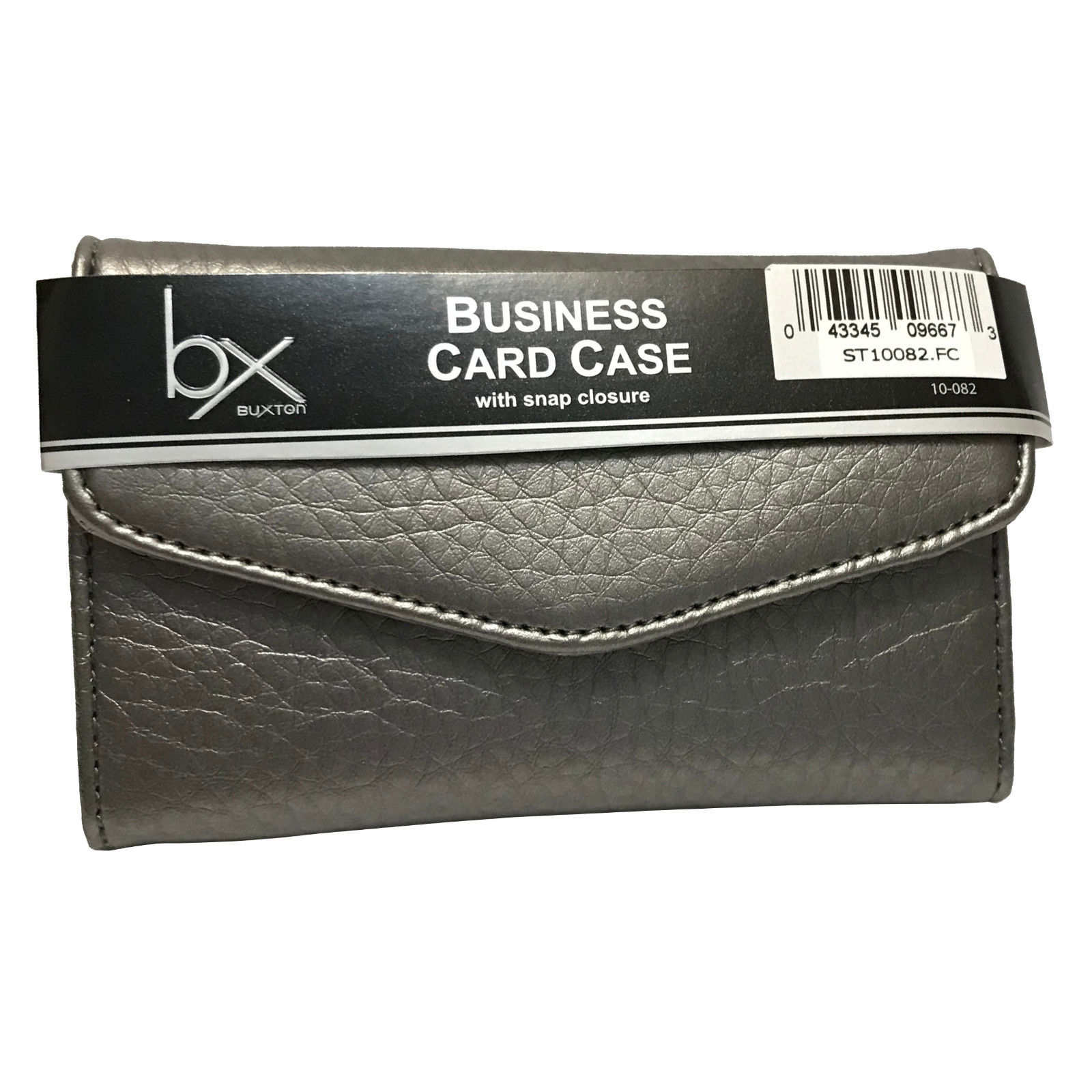 Buxton Business Card / Credit Card Case / Wallet - Silver - Xtreme ...