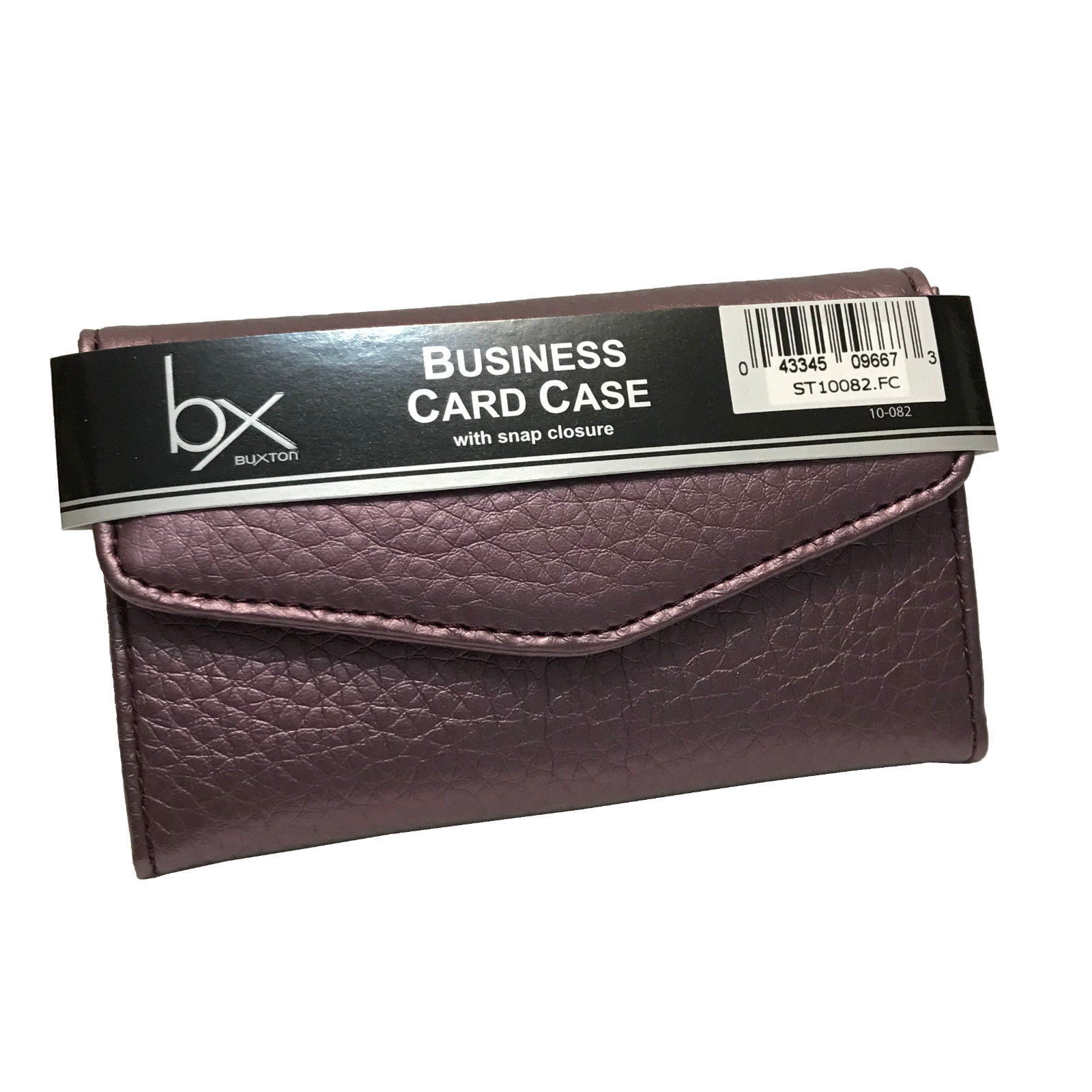 Buxton Business Card / Credit Card Case / Wallet - Plum