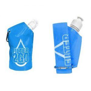 Pocket Filtration Bottle - Blue