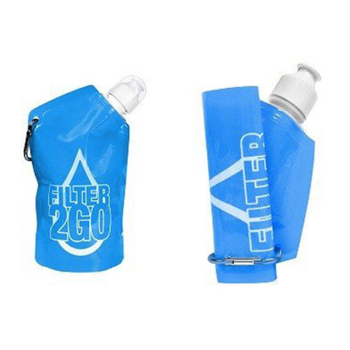 Pocket Filtration Bottle - Blue