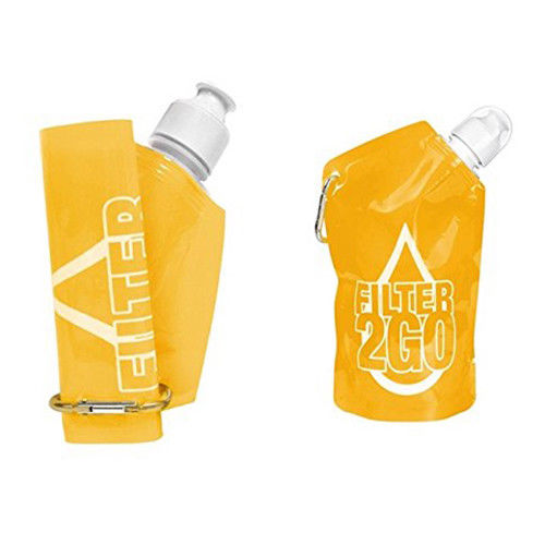 Pocket Filtration Bottle - Yellow