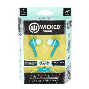 Wicked Audio Fang Anchor Fit Earbuds