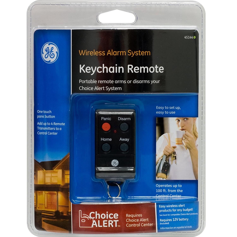 Ge Choice Alert Wireless Alarm System Keychain Remote Xtreme Edeals Panic Button Wiring