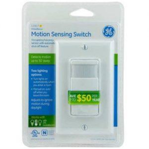 In-Wall Motion Sensing Switch