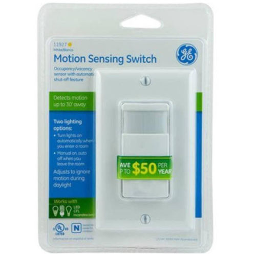 In-Wall Motion Sensing Switch