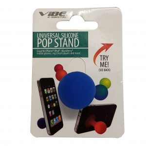 Universal Silicone Pop Stand Blue