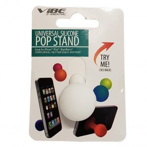 Universal Silicone Pop Stand White