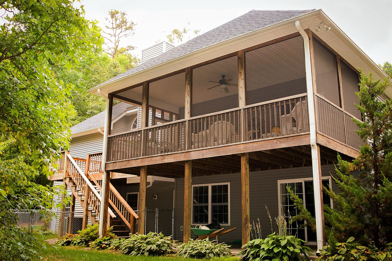decking ideas for back porch