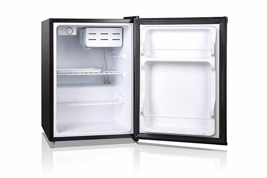 Magic Chef MCBR240B1 Refrigerator, 2.4 cu. ft, Black - 800