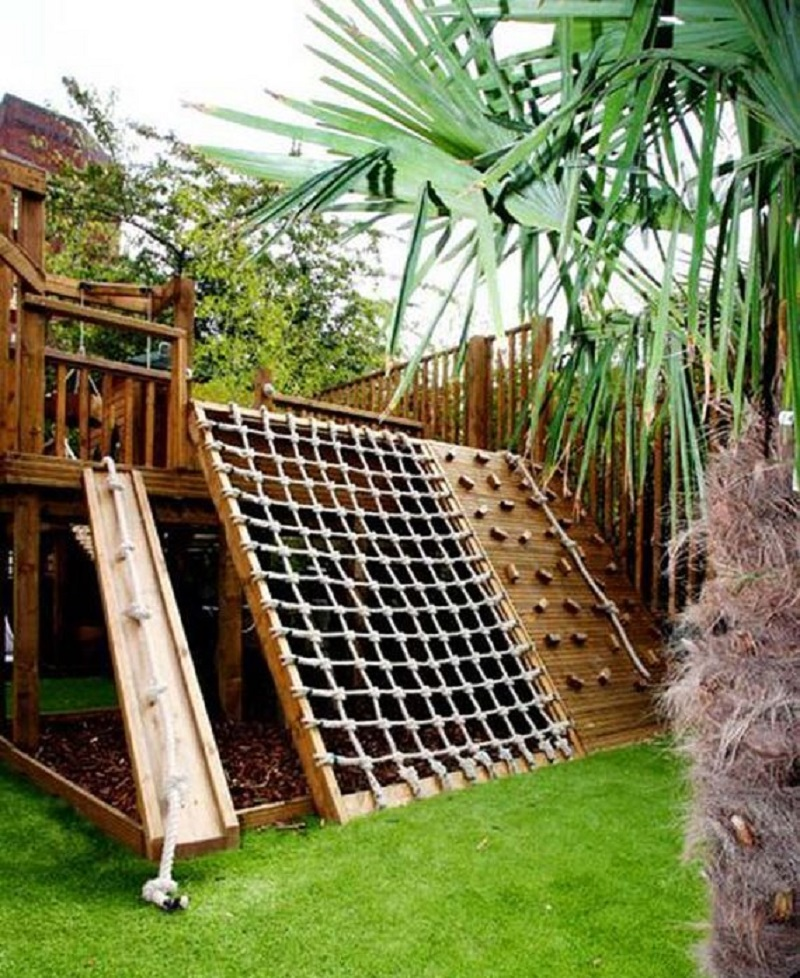 deck playground - deck ideas