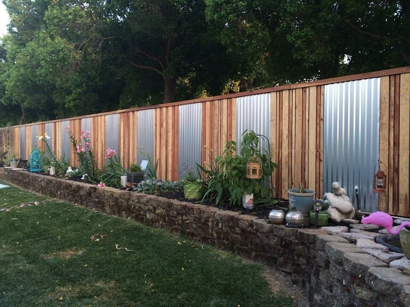 fence styles - fence designs - materials