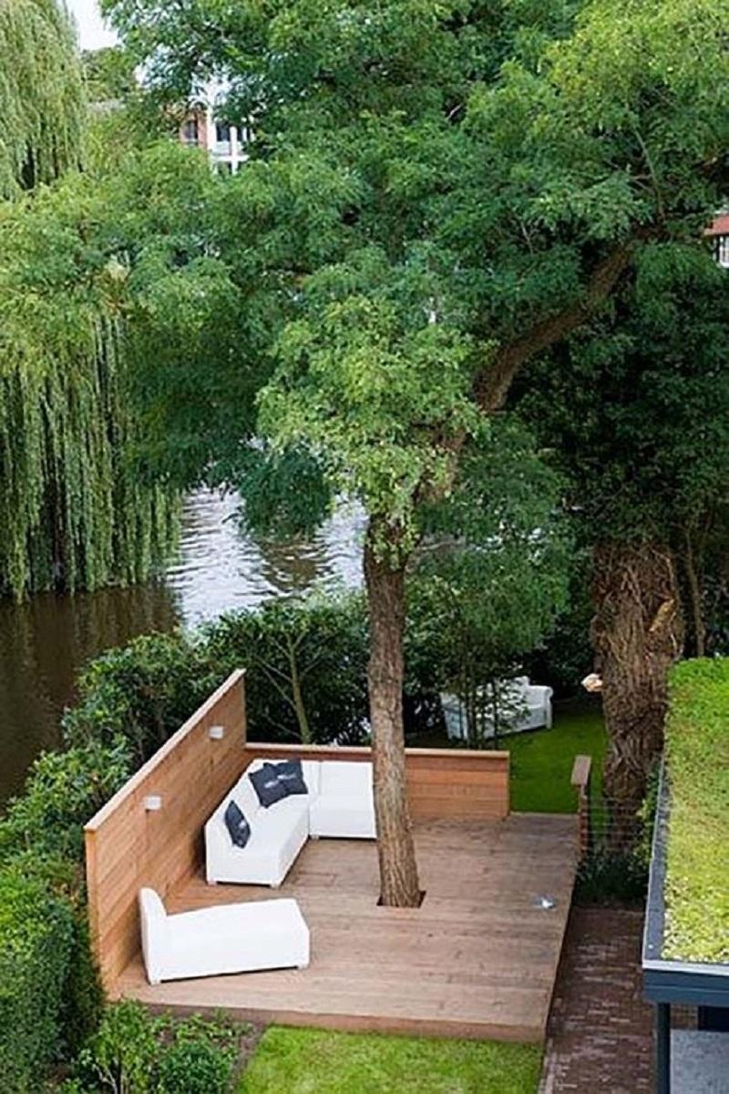 wrap around tree deck - deck design ideas-jpg