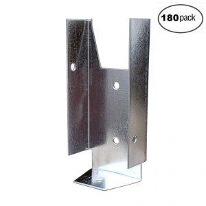 Fence Clip Bracket Hanger (180 Pack)