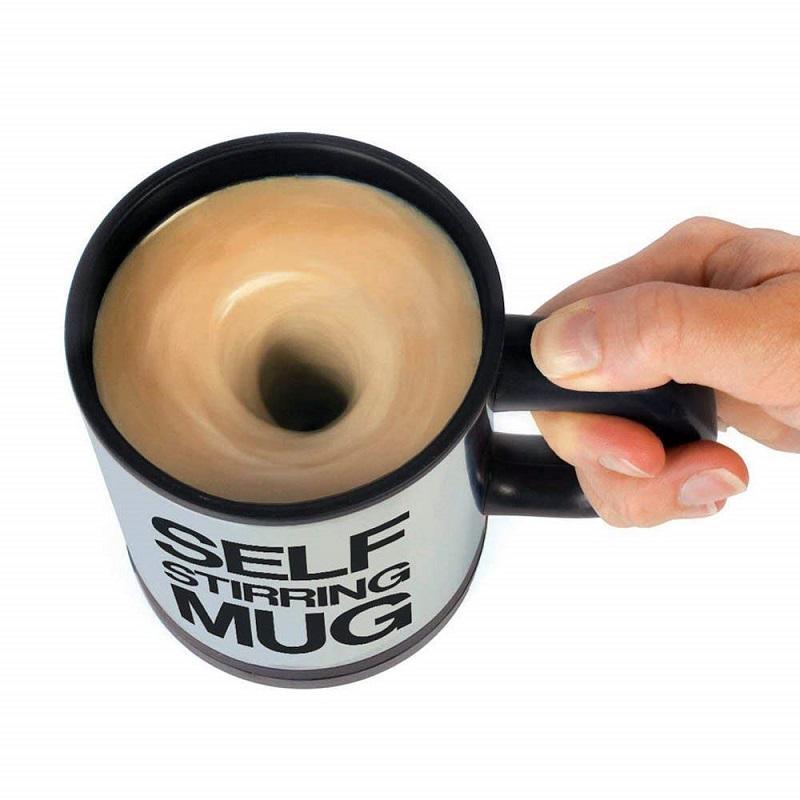 self stirring mug - coffee
