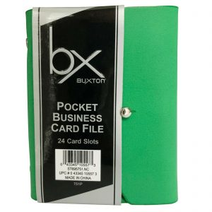 24 Card Slots - Green