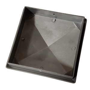 "5.5"" x 5.5"" Heavy Duty Aluminium Pyramid Post Cap for Wood Posts"