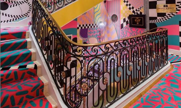 colored stairs - home decor picture