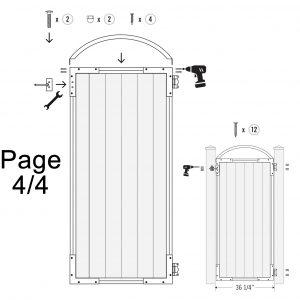 Strong Gate Frame Kit Pro 6
