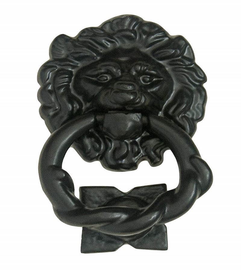 lion door knocker - new adjustments