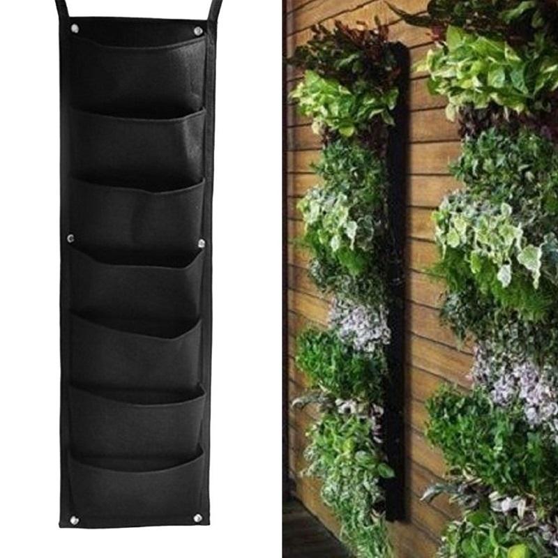 wall garden bags - fence