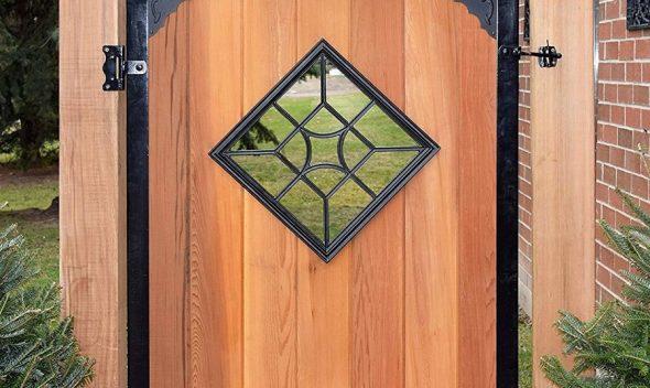 wooden gate insert