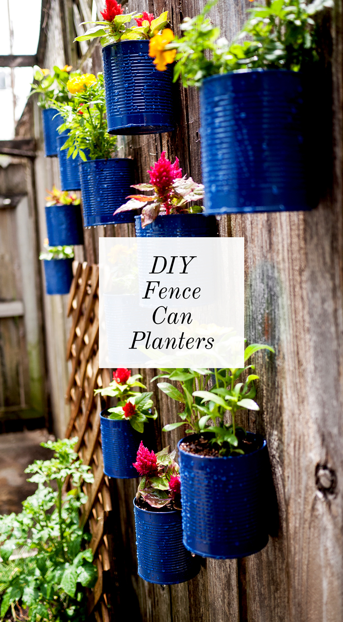 diy canned planters