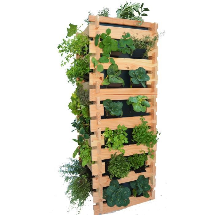 garden planter - tour-carre-potager-vertical-sureleve