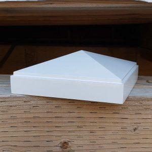 "Aluminum 4"" x 4"" Pyramid Post Cap"