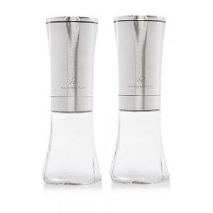 Spice Mill Set Stainless Steel