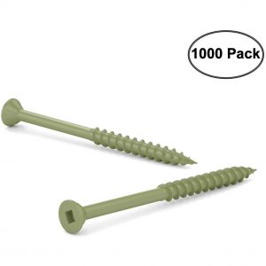 "Deck Screws #8 x 2-1/2"" (1000pack)"