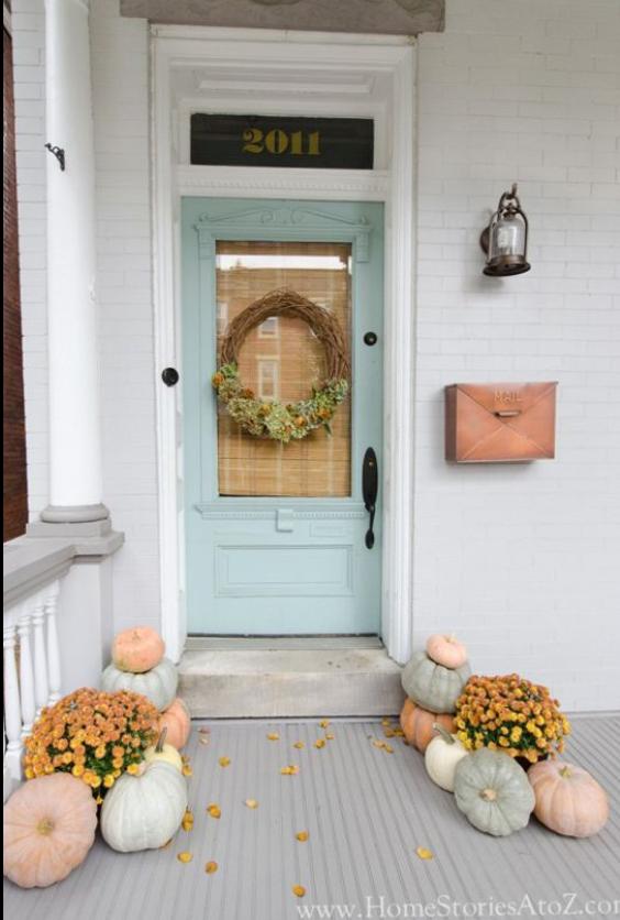 autumn porch design 13 charm