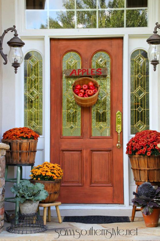 autumn porch design 16 - pretty up porch