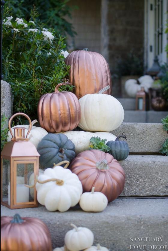 autumn porch decor ideas