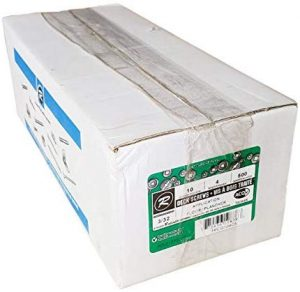 "500 Pack #10 x 4"" Deck Screws ACQ Green Ceramic Finish, Square Drive"