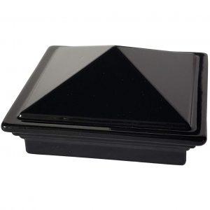 """Decorex Hardware 2"""" x 2"""" Aluminium Pyramid Post Cap"""